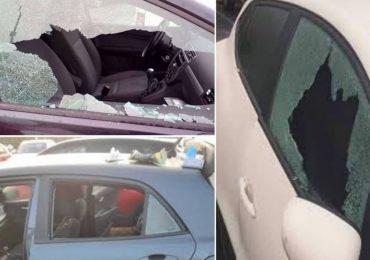 Raid punitivo nel parcheggio dell'Ausl: NoCovid distruggono 70 auto di medici e infermieri