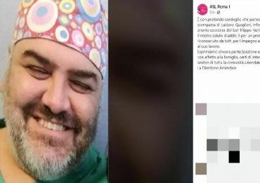 Coronavirus, addio all'infermiere Luciano Quaglieri: il cordoglio dell'Asl Roma 1