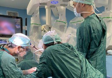 Linfedema, eseguito a Pisa autotrapianto di linfonodi robot-assistito