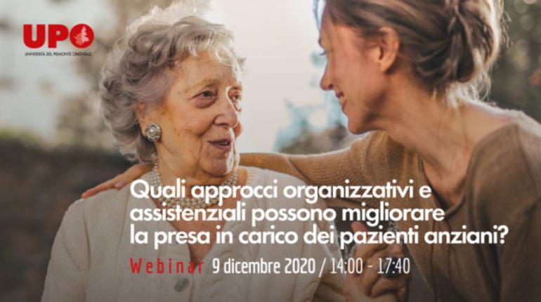 Quali approcci organizzativi e assistenziali possono migliorare la presa in carico dei pazienti anziani?