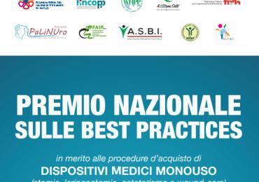 """Le Associazioni pazienti premiano le """"Buone pratiche"""" sui prodotti che utilizzano (sacche, placche, cateteri, ulcere cutanee, etc.)"""