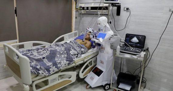 Al via i test di Cira-3, il robot infermiere per curare il Covid-19