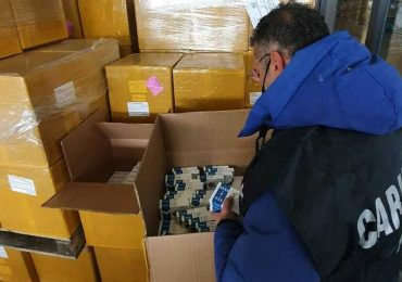 "Operazione ""Test Covid sicuri"", sequestrati 350 dispositivi di analisi sierologiche"