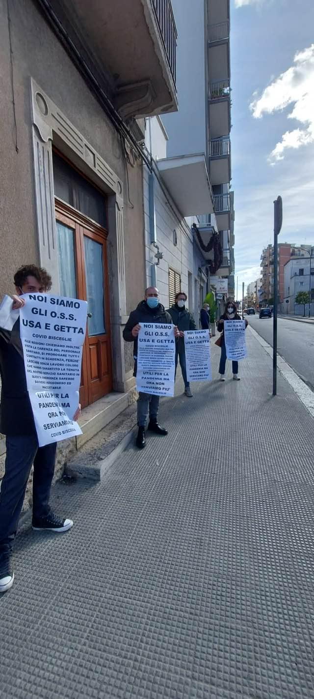 Puglia, Oss: assunti per la Pandemia e mandati a casa in piena emergenza!