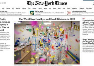 Gli infermieri romani su The New York Times