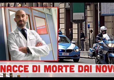 Minacce dai NoVax: la questura mette Matteo Bassetti sotto protezione
