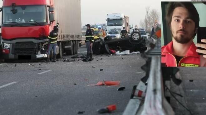 Giovane infermiere muore in un tragico incidente rientrando a casa dopo il turno di lavoro