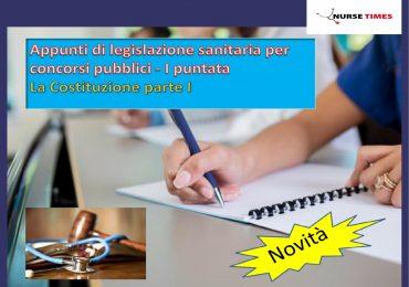 Appunti di legislazione sanitaria per concorsi pubblici