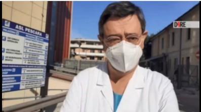 """Covid Hospital di Pescara: 42 persone intubate: ospedale al completo, """"ma sistema regge"""""""