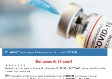 In attesa del vaccino per il Covid-19? Un calcolatore ti dirà tra quanti anni sarà il tuo turno 1