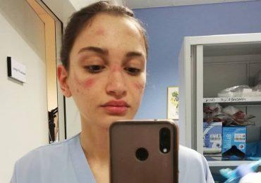 L'infermiera Alessia Bonari a Sanremo 2021: a nome di tutti gli eroi del Covid