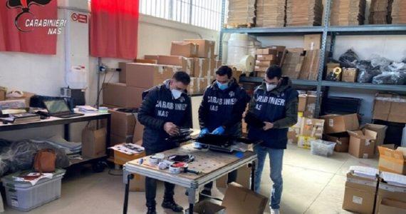 Nas Trento in azione: sequestro di mascherine U-MASK per 5 milioni di euro e ritiro dal commercio del modello 2.1