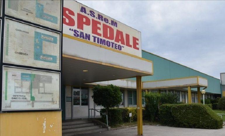Termoli, ospedale San Timoteo al collasso per l'emergenza Covid