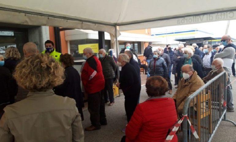 Vaccino anti-Covid: caos anziani in Veneto
