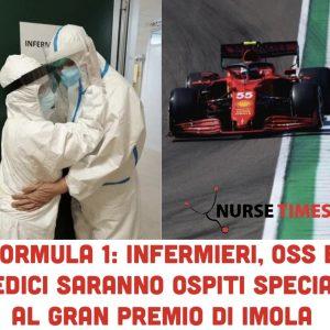 """Covid-19: 150 infermieri """"eroi"""" e vaccinati ospiti speciali al Gran Premio di Imola"""