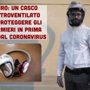 Covid-19: il casco elettroventilato Zefiro a protezione degli infermieri in prima linea 1