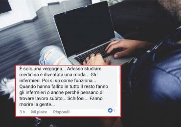 Offese e minacce sul web agli infermieri: sanzioni da € 5.000 per i leoni da tastiera