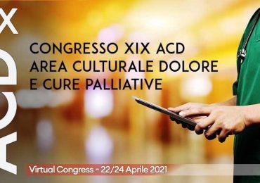 Terapia del dolore e cure palliative: si apre il congresso Acd-Siaarti