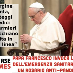 "Papa Francesca:""Vergine Santa, proteggi"