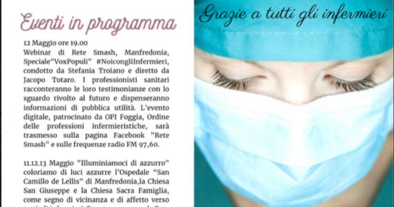 12 maggio 2021 Giornata Internazionale dell'infermiere: gli eventi di Rete Smash