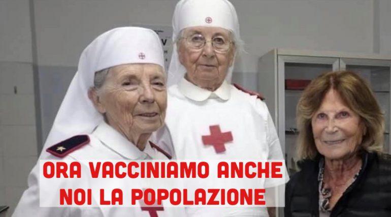 Dl Sostegni: anche le Crocerossine vaccineranno la popolazione contro il Covid-19