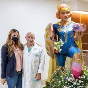 Miami, nuovo omaggio agli infermieri della street artist Claudia La Bianca
