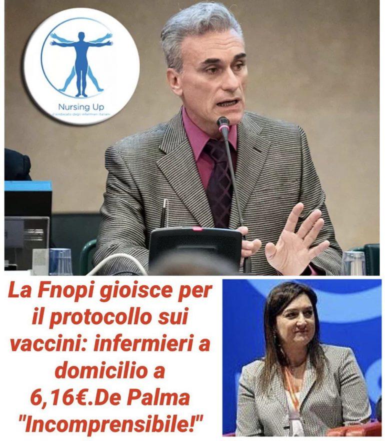 """Nursing Up """"La FNOPI gioisce per la recente firma del Protocollo. Incomprensibile!"""""""