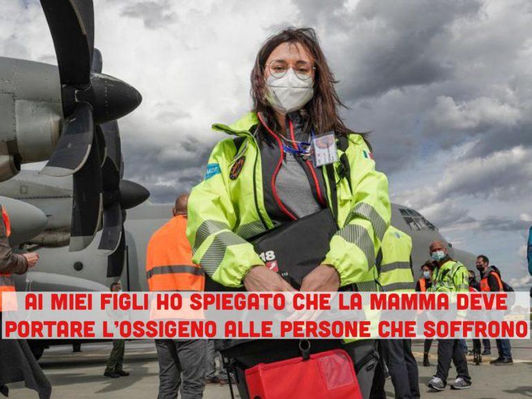 Tatiana Alborno, infermiera specializzata in maxi emergenze in volo verso l'India 1