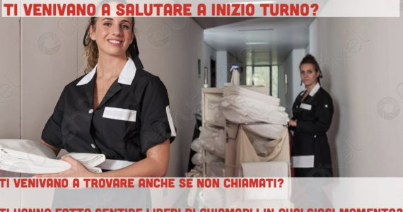 Tor Vergata: un questionario di gradimento preso da un hotel per valutare le competenze degli infermieri