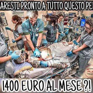 Non venite a dirci che mancano infermieri!