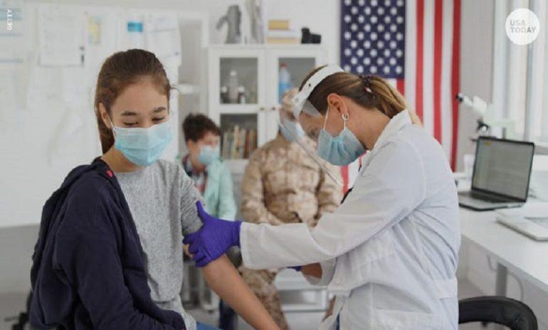Coronavirus, i dati relativi agli adolescenti americani ricoverati nel 2021
