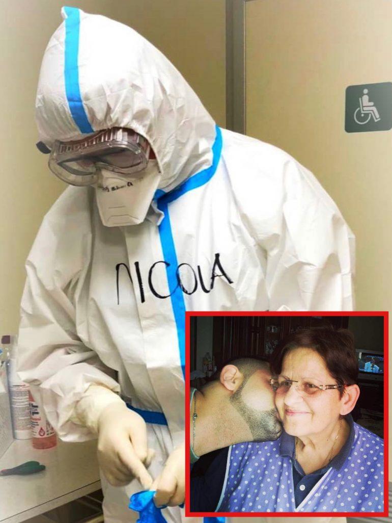 """""""Io, infermiere in prima linea, ho rinunciato all'abbraccio di mia madre per sconfiggere il Covid-19"""""""