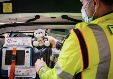 Un orsacchiotto del 118 per ridurre la paura dei bambini soccorso in codice giallo o rosso