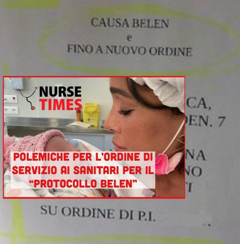 """È polemica al Giustinianeo per l'ordine di servizio agli infermieri della ginecologia """"Causa Belen"""""""