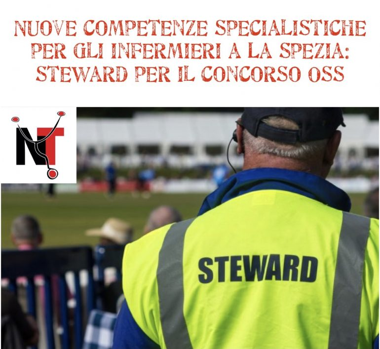 Nuove competenze specialistiche per gli infermieri a La Spezia: faranno gli steward per il concorso Oss