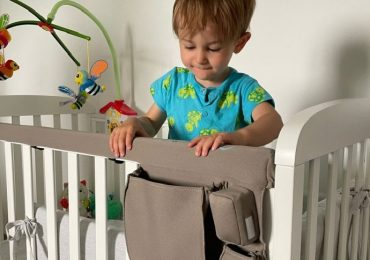 Tippy Rail: il dispositivo che previene le cadute dei bimbi dal lettino
