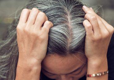 Capelli bianchi: il legame con lo stress