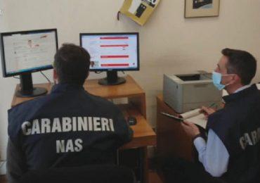 Coronavirus, vendita illegale di farmaci online: Nas oscurano 95 siti web