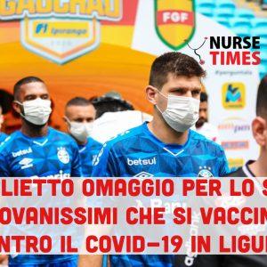 Covid-19: un biglietto per lo stadio in omaggio ai giovani che si vaccinano in Liguria