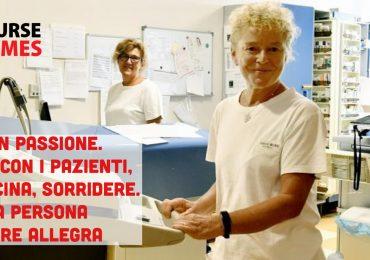Dopo 42 anni di servizio in oncoematologia senza un giorno di malattia va in pensione l'infermiera Rosangela Gatti