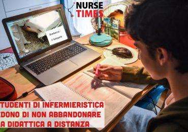 Gli studenti di infermieristica chiedono di non abbandonare la Didattica a Distanza