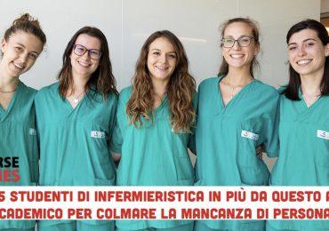 Mancano infermieri in ospedale: il MIUR decreta 7.495 posti in più per gli studenti del corso di laurea