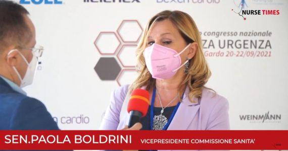 """Boldrini (Commissione Sanità): """"Importante l'unità di tutti gli operatori dell'emergenza-urgenza"""""""