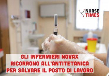 Gli infermieri NoVax ricorrono alla vaccinazione antitetanica per salvare il posto di lavoro