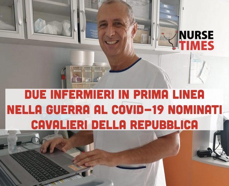 In prima linea nella battaglia contro il Covid-19: due infermieri spezzini nominati Cavalieri della Repubblica