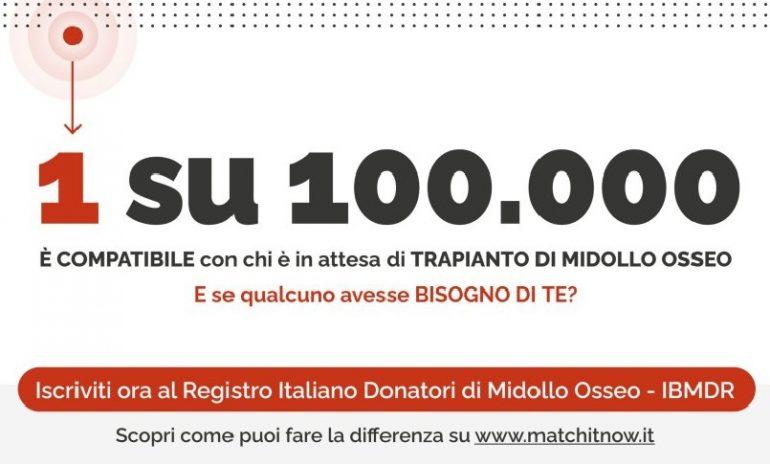 Match it Now!: una settimana dedicata alla donazione del midollo osseo