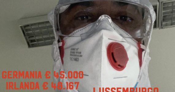Gli infermieri italiani i meno pagati  d'europea peggio di noi solo Grecia ed Estonia