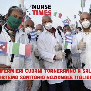 Mancano senpre più infermieri nei reparti: pronto un piano di emergenza per assumerli da Cuba
